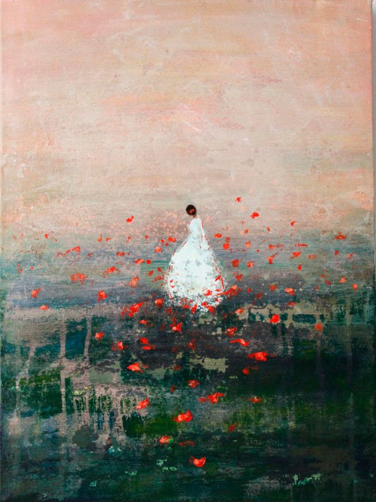 Among the Poppies ~ Private Collection France